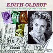 Edith Oldrup - Lyrical Soprano of the Danish Royal Opera