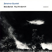 Bartók: String Quartet no 5;  Hindemith: String Quartet no 4 / Zehetmair Quartett