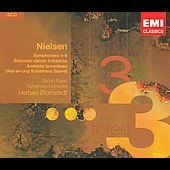 Nielsen: Symphonies no 1-6 / Blomstedt, Danish Radio SO