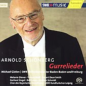 Schoenberg: Gurrelieder / Gielen, Diener, Naef, et al