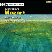 Mozart: Piano Concertos no 17, 20, 22 & 24
