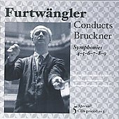 Wilhelm Furtw&auml;ngler conducts Bruckner: Symphonies no 4-9