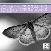 Brahms: Piano Sonata Op. 2, Waltzes Op. 39, Scherzo Op. 4 / Matthias Kirschnereit