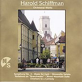 Schiaman: Symphony no 2, Ninnerella Variata, etc / Antal, Koltai, Gy&ouml;r PO