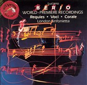 Berio: Requies; Voci; Corale