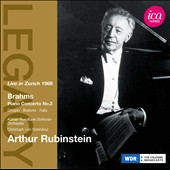 Brahms: Piano Concerto No. 2 / Artur Rubinstein
