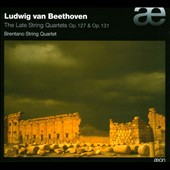 Beethoven: The Late String Quartets Op. 127 & Op. 131 / Brentano Quartet