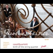 Birth of the String Quartet, Vol. 2 / Telemann, Guillemain, Mozart, Haydn