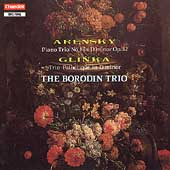 Arensky, Glinka: Piano Trios / The Borodin Trio
