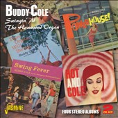 Buddy Cole: Swingin at the Hammond Organ: 4 Stereo Albums