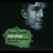 Music for a While: Songs by Henry Purcell / Maarten Koningsberger, baritone; Fred Jacobs, Theorbo