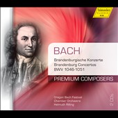 Bach: Brandenburg Concertos, BWV 1046-1051 / Oregon Bach Festival CO - Rilling