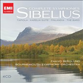 Sibelius: Complete Symphonies, Tone Poems / Paavo Berglund, Bournemouth SO