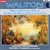 Walton: Symphony no 2, etc / Bryden Thomson, London PO
