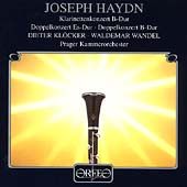 Haydn: Clarinet Concertos / Klocker, Wandel, Prague CO