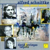 Alfred Schnittke: Cello Sonatas Nos. 1 & 2; Epilogue from 'Peer Gynt'; Musca nostalgica / David Geringas, cello; Tatjana Schatz, piano