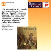The Magnificent Mr. Handel - Instrumental Music / Groves