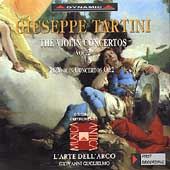 Tartini: Violin Concertos Vol 2 /Guglielmo, L'Arte dell'Arco