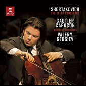 Shostakovich: The Cello Concertos Nos. 1 & 2 / Gautier Capuçon, cello; Mariinsky Orch., Gergiev