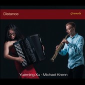 Distance - works for soprano saxophone & accordion by Burkali, Berio, J.S. Bach, Takemitsu, Marcello, Penderecki, Piazzolla / Michael Krenn, Yueming Xu