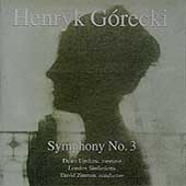Gorecki: Symphony no 3 / Zinman, Upshaw, London Sinfonietta