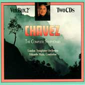 Chavez: The Complete Symphonies / Mata, London SO