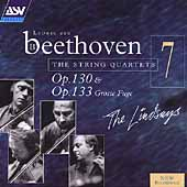 Beethoven: The String Quartets Vol 7 / The Lindsays