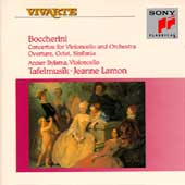Boccherini: Cello Concertos, etc / Bylsma, Lamon, Tafelmusik