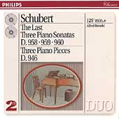 Schubert: The Last Three Piano Sonatas / Alfred Brendel