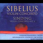 Sibelius, Sinding: Violin Concertos, etc / Kraggerud, et al