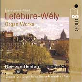 Lef&eacute;bure-W&eacute;ly: Organ Works / Ben van Oosten