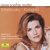 Tchaikovsky, Korngold: Violin Concertos / Mutter, Previn