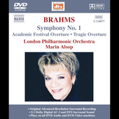 Brahms: Symphony no 1, etc / Marin Alsop, London PO