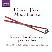 Time for Marimba - Miki, Takemitsu, etc / Daniella Ganeva