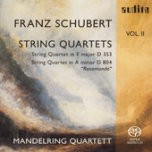Schubert: String Quartets Vol 2 / Mandelring Quartet