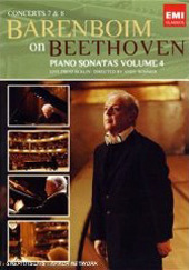 Barenboim on Beethoven The Complete Piano Sonatas / Sonatas 7 and 8 [DVD]