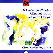Zbinden: Oeuvres pour et avec Harpe / Mathieu, et al