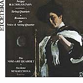 Rachmaninov: String Quartets, Romances / Moz-art Quartet