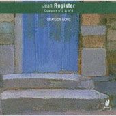 Rogister: String Quartets no 2 and 6 / Gong Quartet