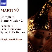Martinu: Complete Piano Music Vol 2 / Giorgio Koukl