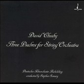 Chesky: Three Psalms for String Orchestra / Somary, et al