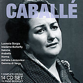 Donizetti: Gemma di Vergy;  Bellini, etc / Caballé, et al [14 CDs]