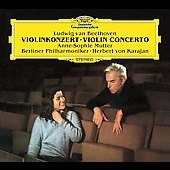 Beethoven: Violin Concerto / Mutter, Karajan, Berlin PO