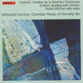Diffracted Terrains - Dorothy Ker / Martinez, Lontano Ensemble