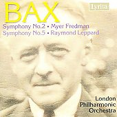 Bax: Symphonies 2 & 5 / Fredman, Leppard, LPO