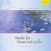 French Works for Cello and Piano Vol 1 - Widor, Vierne / Peter Bruns, Annegret Kuttner