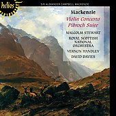 Mackenzie: Violin Concerto, Pibroch Suite / Stewart, et al