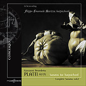Platti: Complete Keyboard Sonatas Vol 2 / Filippo Emanuele Ravizza