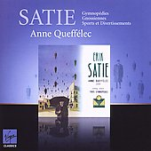 Satie: Gymnop&eacute;dies, Gnossiennes, Sports et Divertissements / Anne Queff&eacute;lec