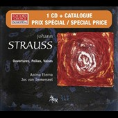 Strauss: Ouvertures, Polkas, Valses [CD+Catalogue]
